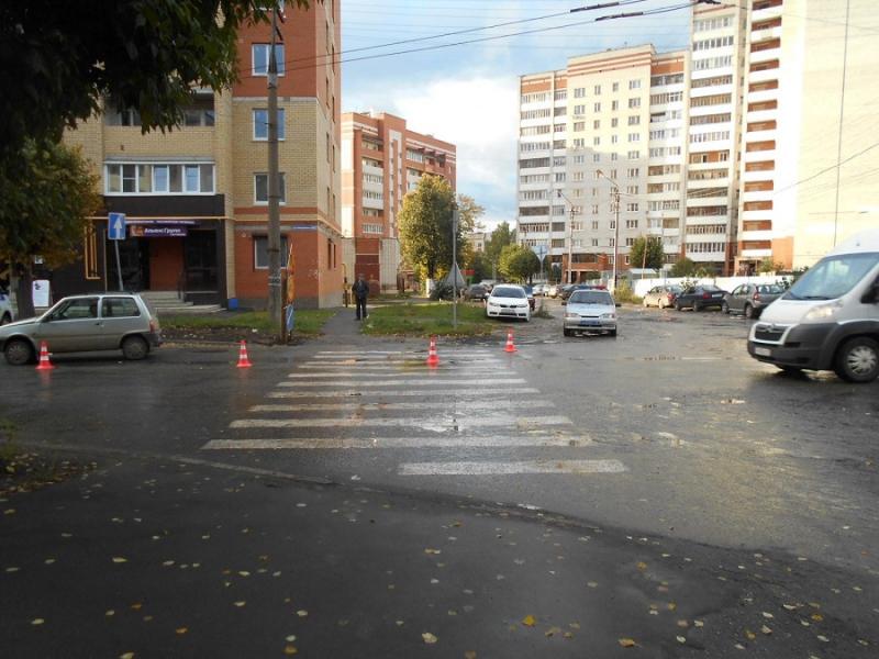 ВЙошкар-Оле водители непропускают пешеходов