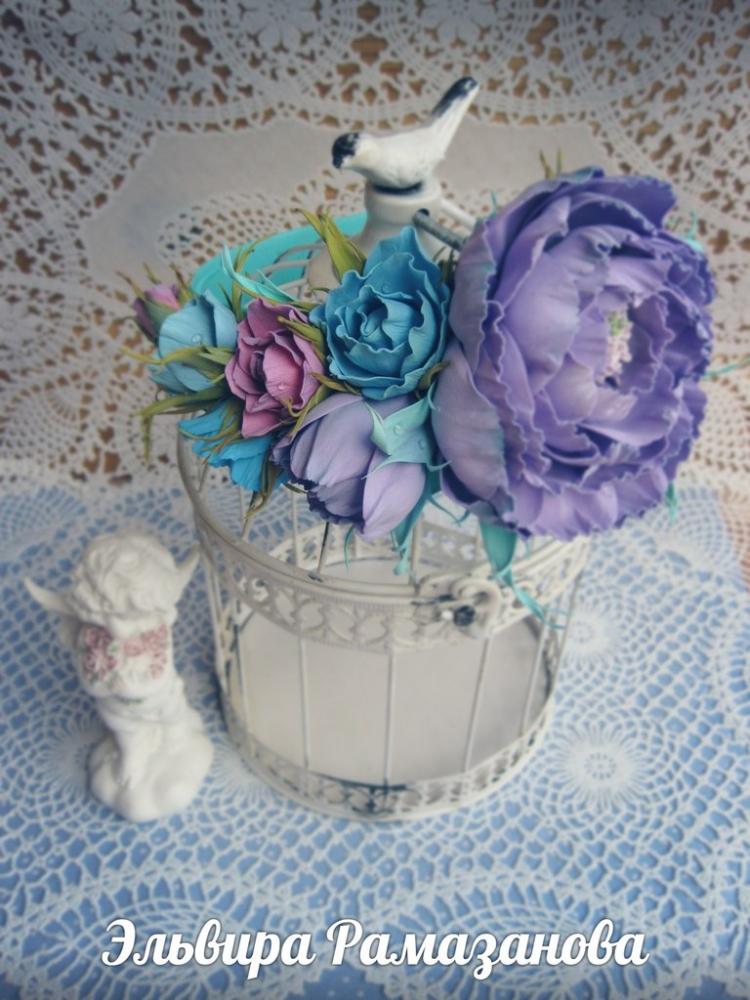 подарки,  хенд мейд handmade йошкар-ола авторские украшения фоамиран фом искусственная замша цветы из фоамирана  ободки украшения для волос заколки