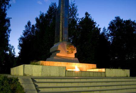 9 мая Волжск Марий Эл, День Победы, вечный огонь