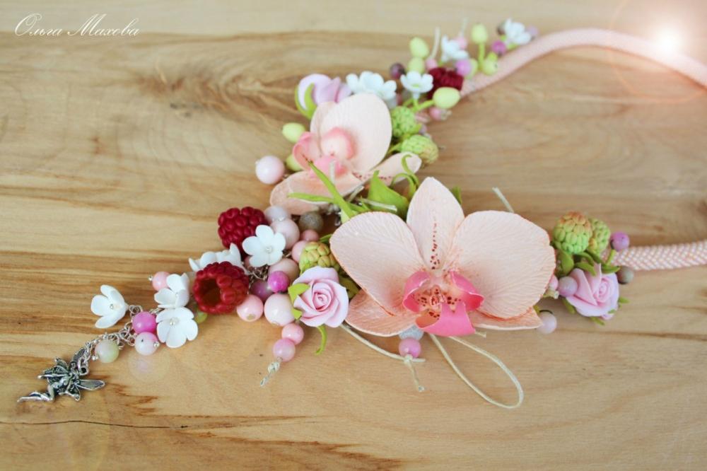 подарки, цветы, хенд мейд handmade полимерная глина украшения из полимерной глины ольга махова йошкаро-ола колье бусы заколки