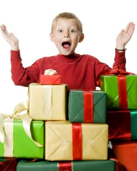Подарок мальчику на новый год картинки