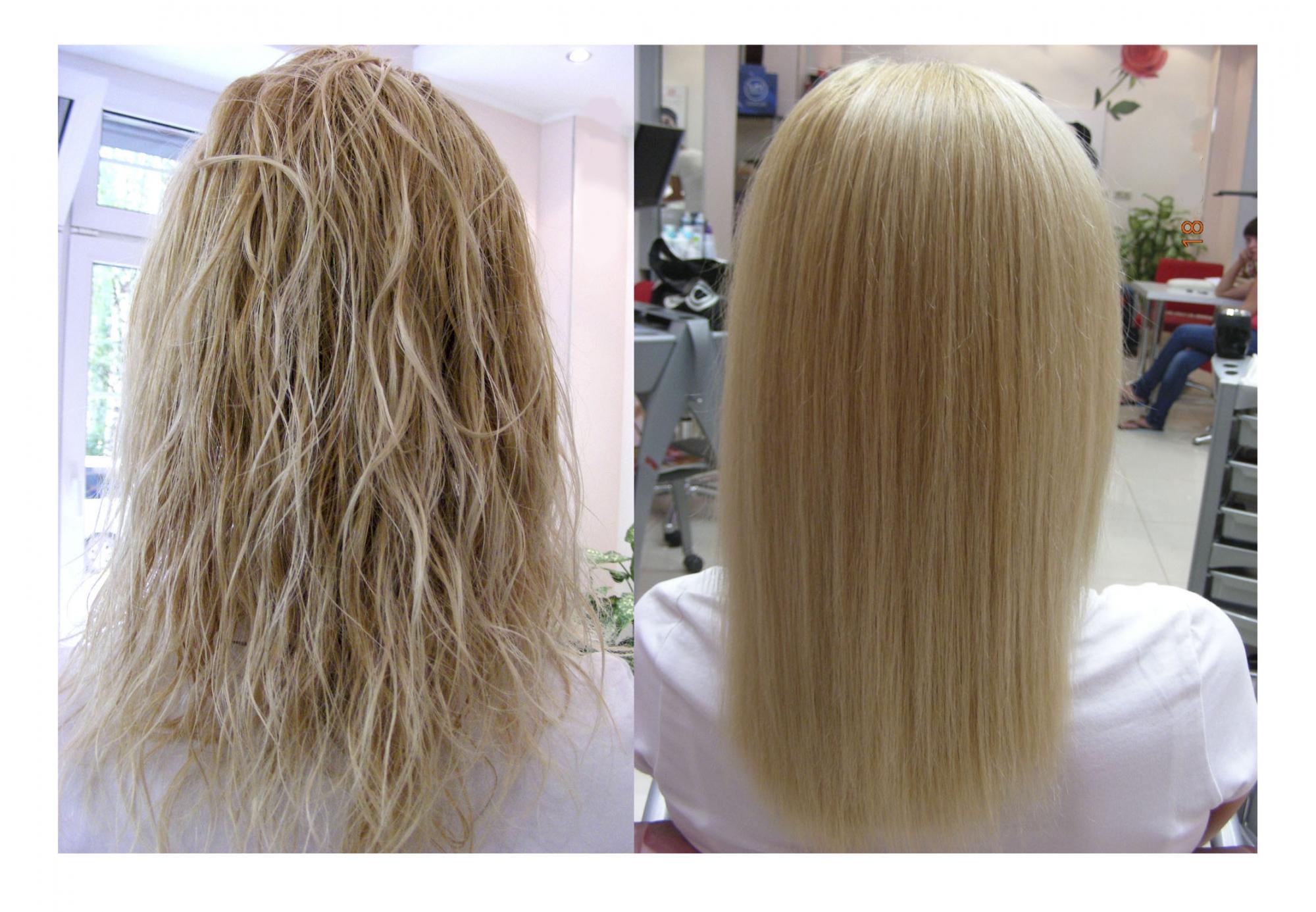 Био выпрямление волос цен