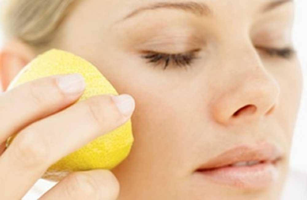 косметология кожа лицо лимон