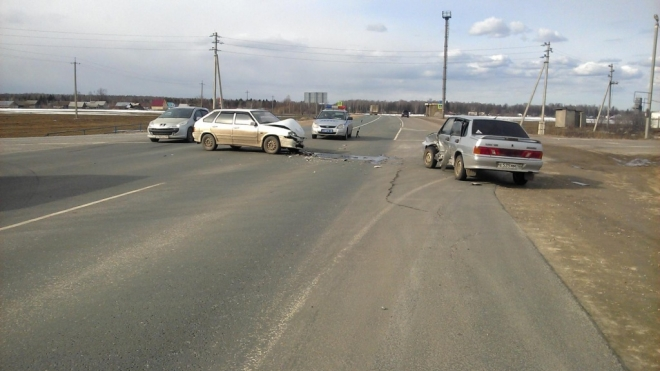 10 человек пострадали 10 апреля в ДТП на дорогах Марий Эл