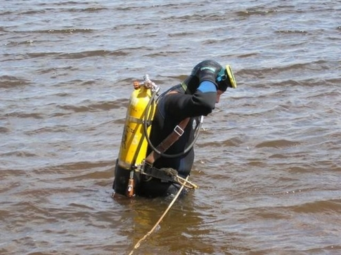 В Марий Эл ЧП на Волге. Водолазы ищут тело второго рыбака