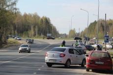 Полицейские задержали трех пьяных водителей во время утренней массовой проверки