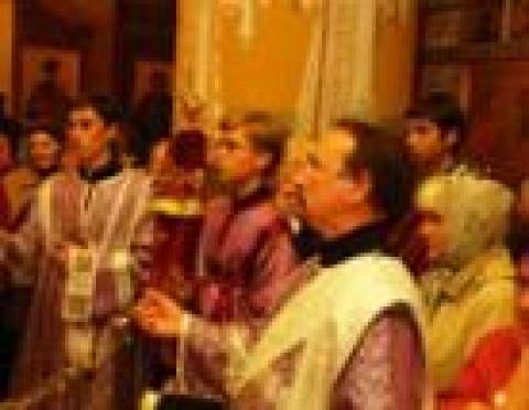 Священнослужители Марий Эл собрались на соборное богослужение