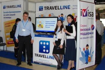 Стенд TravelLine на туристической выставке MITT 2012