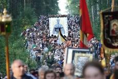 Сегодня Всероссийский крестный ход вступил на территорию Марий Эл