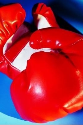 Турнир по боксу постер
