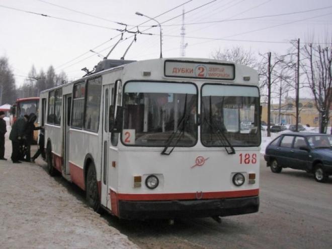 По Воскресенскому проспекту пошли троллейбусы