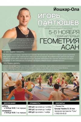 Геометрия асан с Игорем Пантюшевым постер