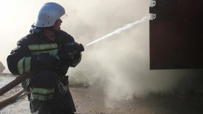 В Звенигово произошёл пожар на деревообрабатывающем предприятии