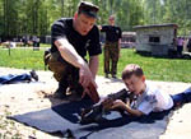 Полигон УФСИН по Республике Марий Эл пережил детский «налёт»