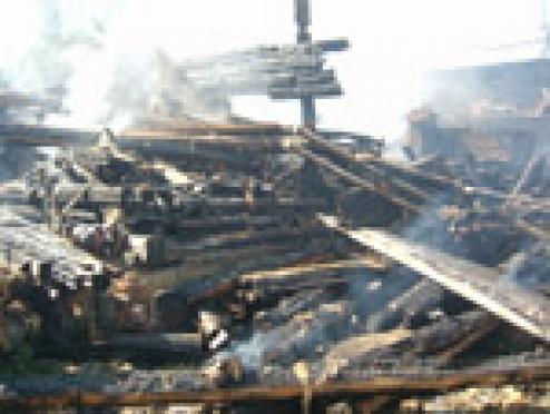 Минувшие выходные стали для пожарных Марий Эл по-настоящему жаркими
