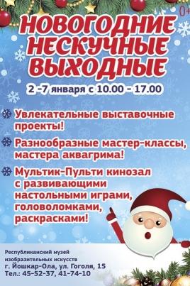 Новогодние нескучные выходные постер