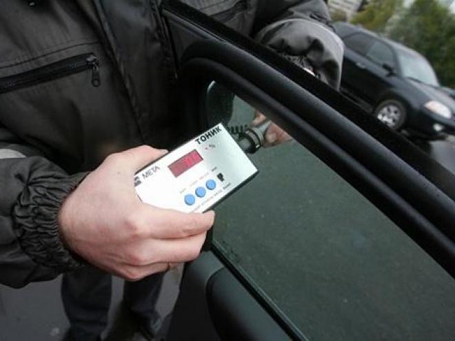 За тонировку автомобилистов будут сурово наказывать (Марий Эл)
