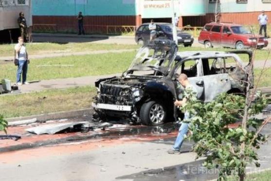 В Казани взорвана машина муфтия