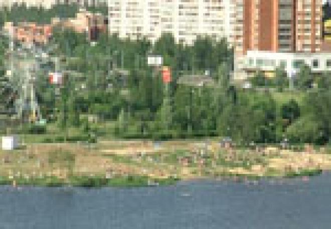 Погода не помешала открытию купального сезона в Йошкар-Оле