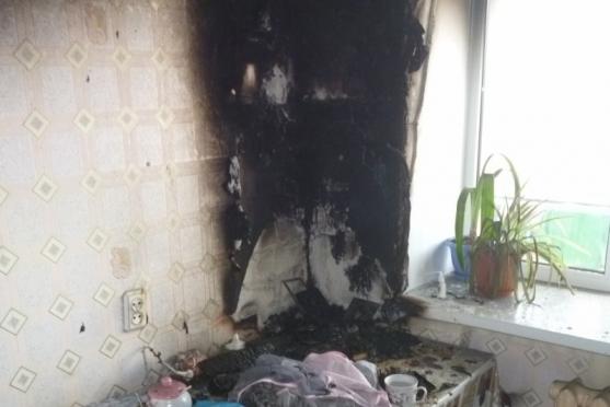 В поселке Советский из-за свечки мог сгореть многоквартирный дом