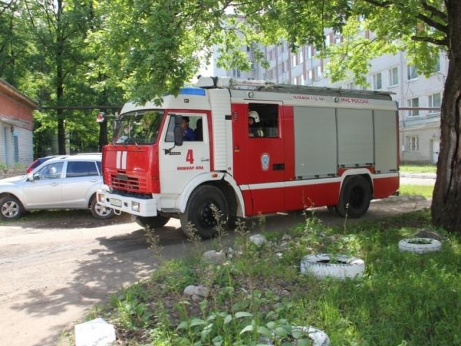 Пожарные ликвидировали «условный пожар» в городской больнице
