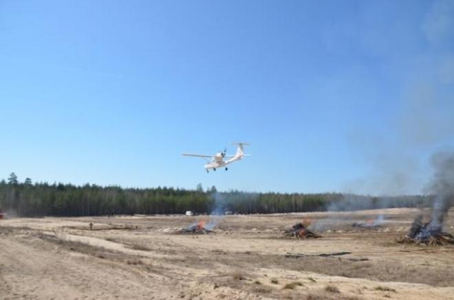Учения по тушению лесных пожаров в Марий Эл получили высокую оценку