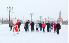 Йошкаролинцев приглашают 1 января на легкоатлетическую праздничную пробежку