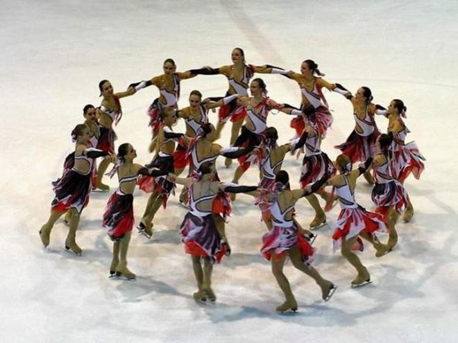 Волжская «Ариада» выиграла III этап Кубка России по синхронному фигурному катанию на коньках