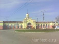 В Йошкар-Оле захватили железнодорожный вокзал