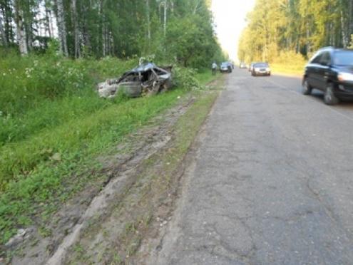 В автоаварии погибли две пассажирки такси