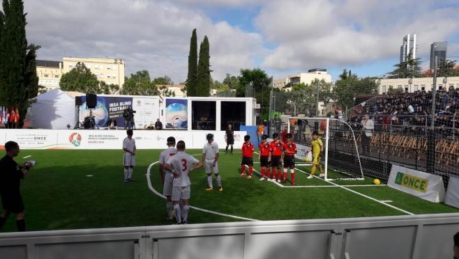 Сборная России по футболу слепых вышла в четвертьфинал чемпионата мира