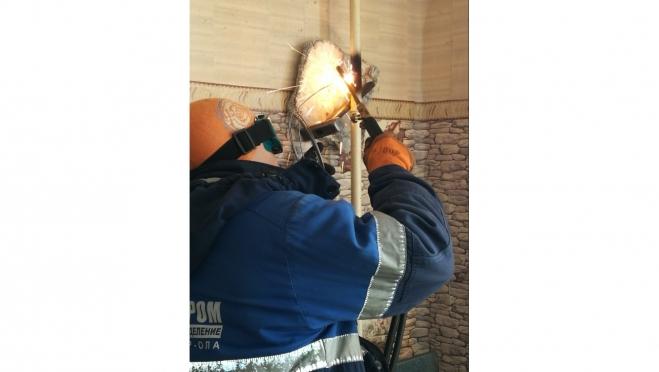 В п. Краснооктябрьский газовики повторно отключили колонку, используемую с грубым нарушением норм безопасности