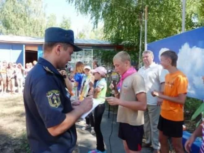 Противопожарная система детских оздоровительных центров удовлетворила пожарных Марий Эл