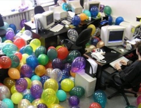 Проведение праздников в офисе
