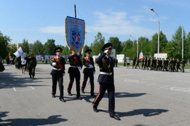 Школьники Марий Эл отправились в «армию»