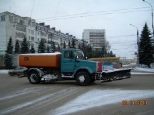 Улицы Йошкар-Олы перекроют для очистки от снега