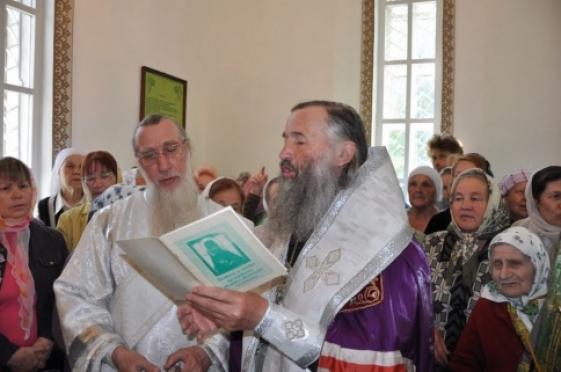 Архиепископ Йошкар-Олинский и Марийский отслужил молебен в Яранске