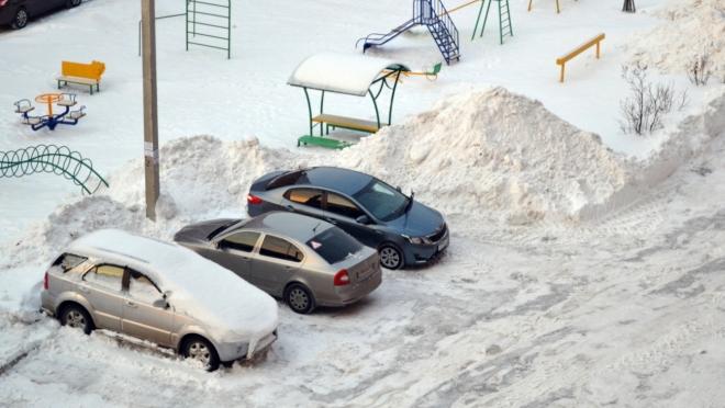 В Йошкар-Оле продолжат чистить дворы от снега