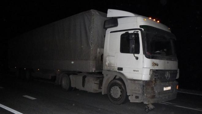 В Звениговском районе грузовик сбил насмерть пешехода