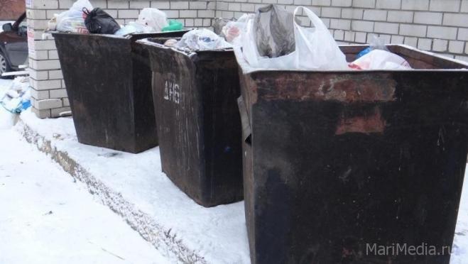 27-летний йошкаролинец пытался сдать на металлом три мусорных контейнера