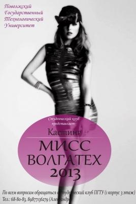 Мисс Волгатех - 2013 постер