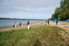 Спасатели МЧС привели в порядок муниципальные пляжи