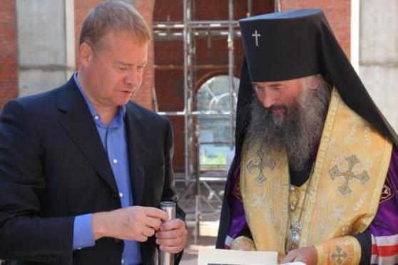 В Йошкар-Оле восстанавливают разрушенную святыню