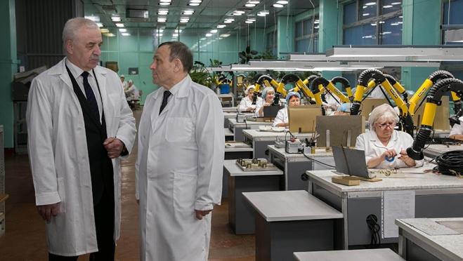Глава Марий Эл оценил потенциал промышленных предприятий города Волжска