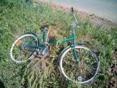 В пригороде Йошкар-Олы велосипедист попал под колеса иномарки