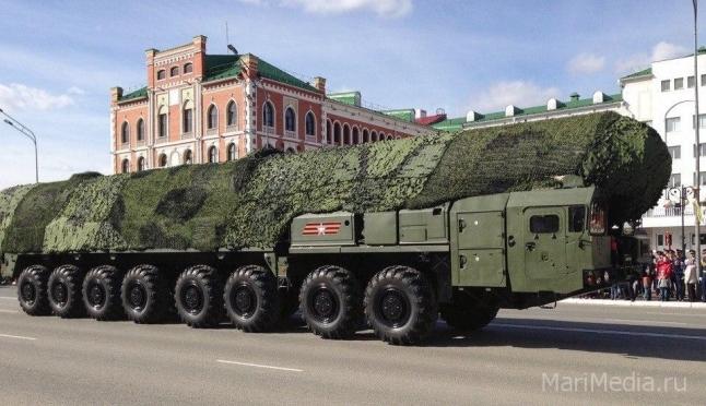 Ещё один полк под Йошкар-Олой перевооружат на ракетный комплекс «Ярс»