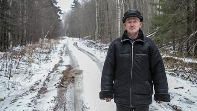 Житель деревни, сам построивший дорогу, будет награждён государственной наградой