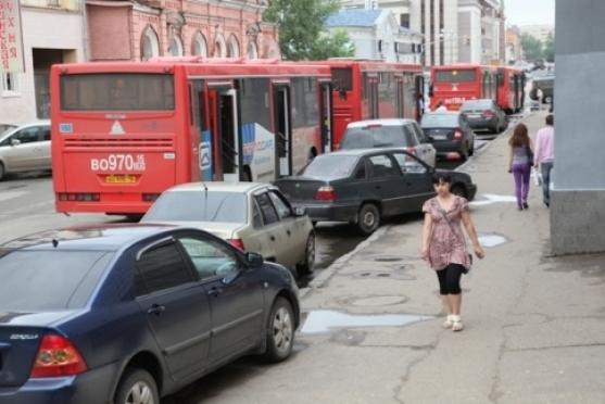 Водителям Марий Эл рекомендуют с осторожностью парковаться в Казани