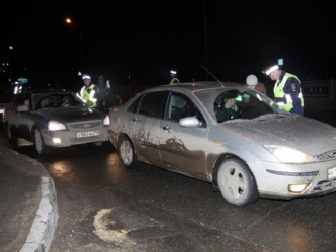 За ночь в Йошкар-Оле задержали двух пьяных водителей