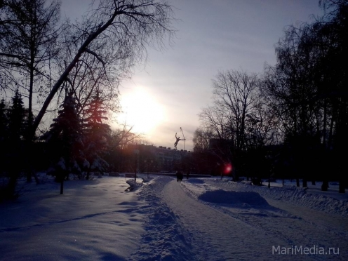 Январь в Марий Эл начнется с трескучих морозов